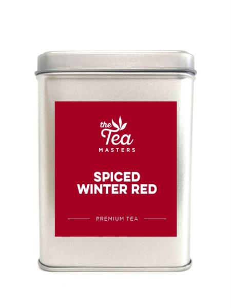 The Tea Masters Storage Tin - Spiced Winter Red