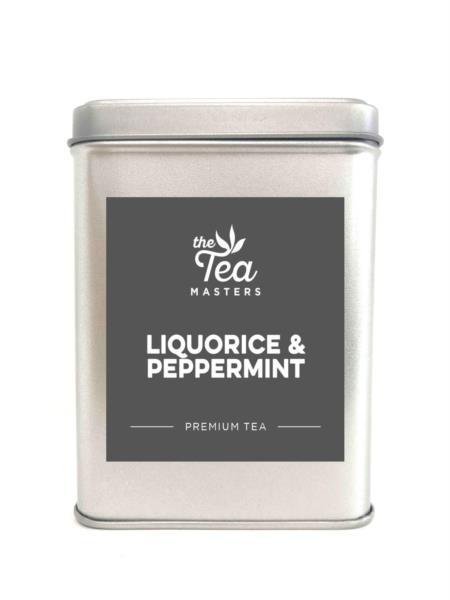 The Tea Masters Storage Tin - Liquorice & Peppermint
