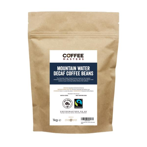 Mountain Water Decaf Espresso Beans (1x250g)
