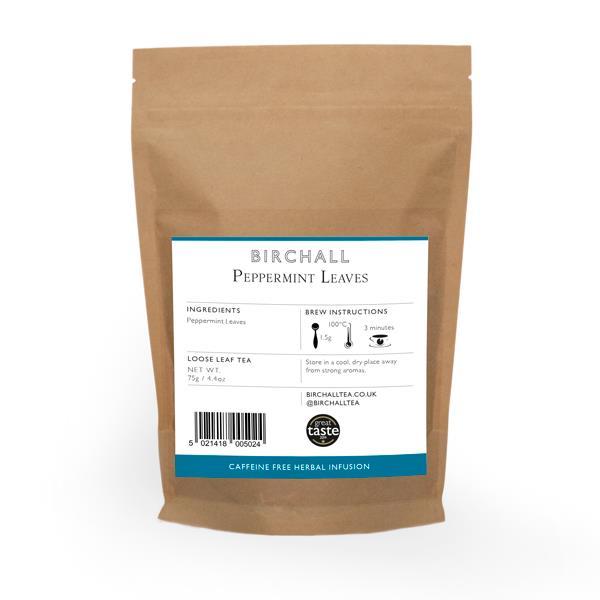Birchall Loose leaf tea - Peppermint (75g)