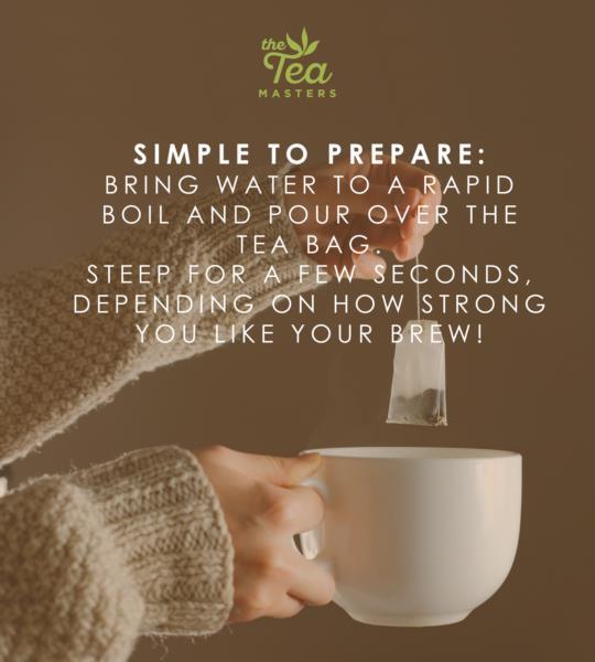 The Tea Masters Organic Tagged Teabags - Earl Grey Tea (1x100) photo 7