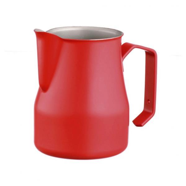 Milk Foaming Jug - Teflon (Red) - 500ml