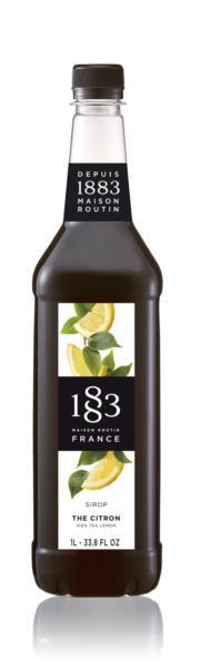 1883 Syrup - Iced tea - Lemon (1x1L)