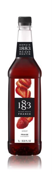 1883 Syrup - Strawberry (1x1L)