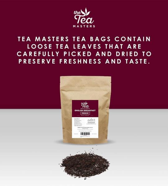 The Tea Masters Prism Teabags - Breakfast Tea - Premium (1x50) photo 5
