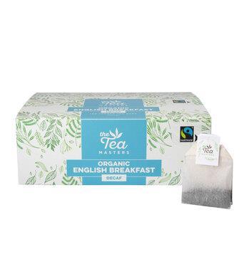 The Tea Masters Organic Tagged Teabags - Decaf Breakfast Tea (1x100) photo 10