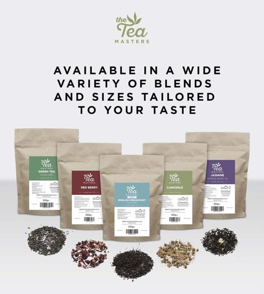 The Tea Masters Prism Teabags - Decaf English Breakfast - Premium (1x25) photo 5