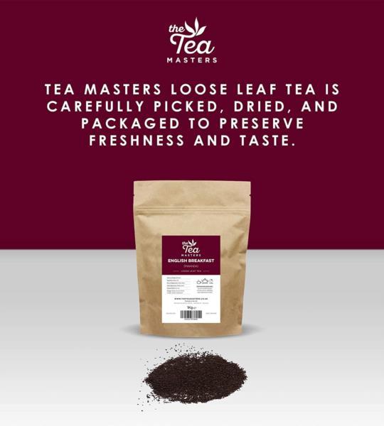 The Tea Masters Loose Leaf Tea - Breakfast Tea - Rwanda (1x1kg) photo 4