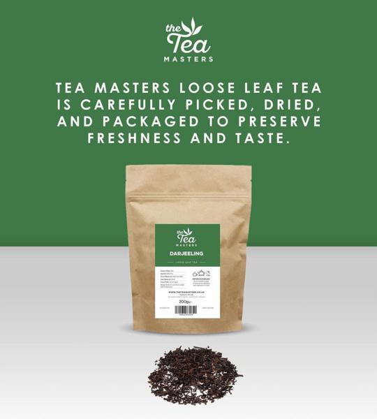 The Tea Masters Loose Leaf Tea - Darjeeling (1x200g) photo 4