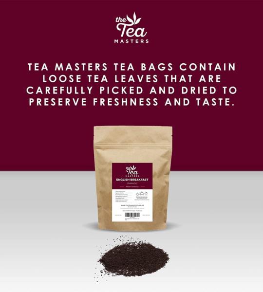 The Tea Masters Prism Teabags - Breakfast Tea - Rwanda (1x25) photo 7