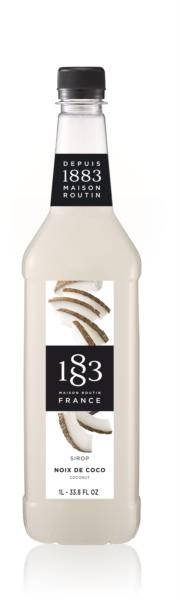 1883 Syrup - Coconut (1x1L) photo 1