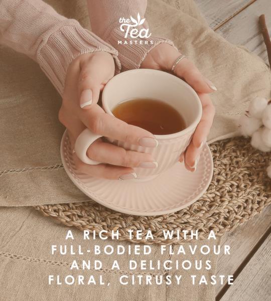 The Tea Masters Organic Tagged Teabags - Earl Grey Tea (1x100) photo 5