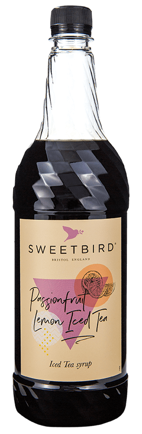 Sweetbird Syrup - Passionfruit Lemon Iced Tea (1x1L)