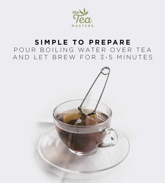 The Tea Masters Loose Leaf Tea - Breakfast Tea - Rwanda (1x250g) photo 8