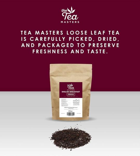 The Tea Masters Loose Leaf Tea - Breakfast Tea - Premium (1x250g) photo 4