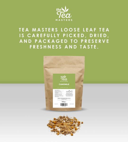 The Tea Masters Loose Leaf Tea - Camomile (1x100g) photo 6