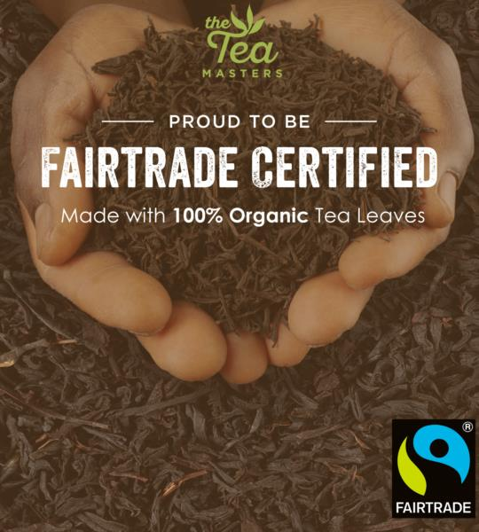 The Tea Masters Organic Tagged Teabags - Decaf Breakfast Tea (1x100) photo 6