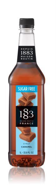 1883 Syrup (Sugar Free) - Caramel (1x1L)