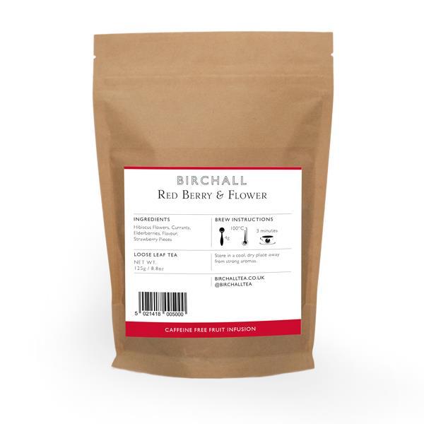 Birchall Loose leaf tea - Red Berry & Flower (125g)