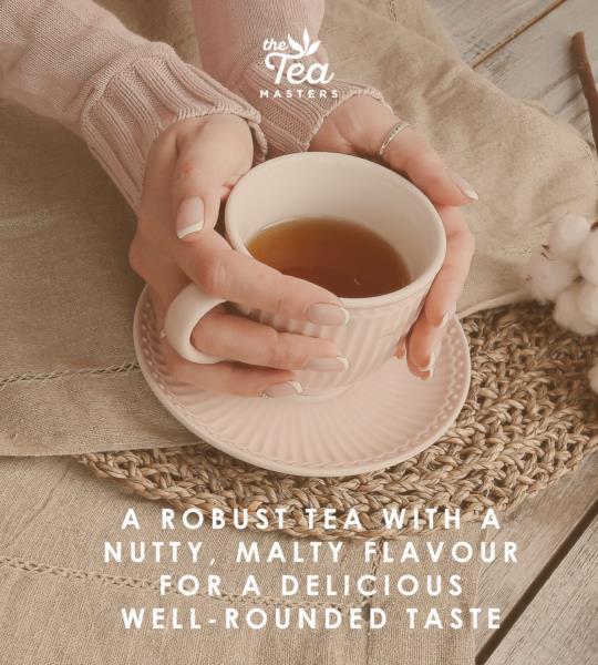 The Tea Masters Organic Tagged Teabags - Decaf Breakfast Tea (1x100) photo 4