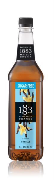 1883 Syrup (Sugar Free) - Vanilla (1x1L)