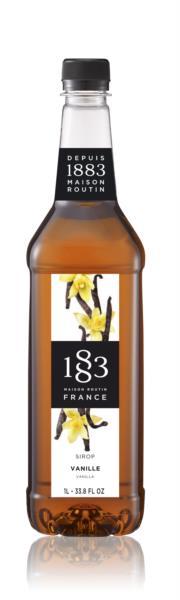 1883 Syrup - Vanilla (1x1L)