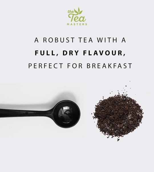 The Tea Masters Prism Teabags - Breakfast Tea - Rwanda (1x25) photo 4