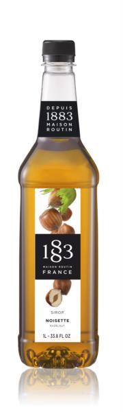 1883 Syrup - Hazelnut (1x1L)