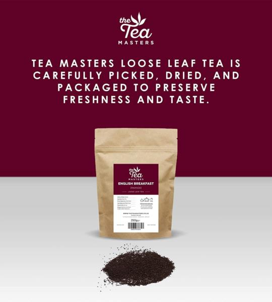 The Tea Masters Loose Leaf Tea - Breakfast Tea - Rwanda (1x250g) photo 6