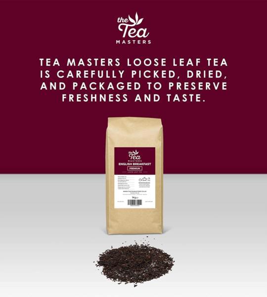 The Tea Masters Loose Leaf Tea - Breakfast Tea - Premium (1x1kg) photo 4