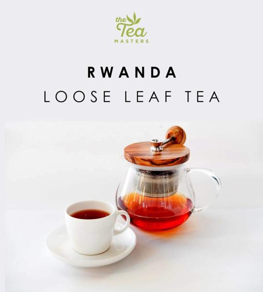 The Tea Masters Loose Leaf Tea - Breakfast Tea - Rwanda (1x250g) photo 7