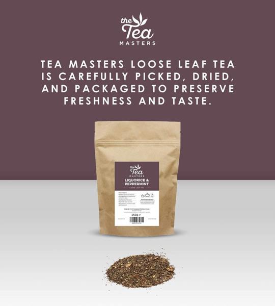 The Tea Masters Loose Leaf Tea - Liquorice & Peppermint (1x250g) photo 7