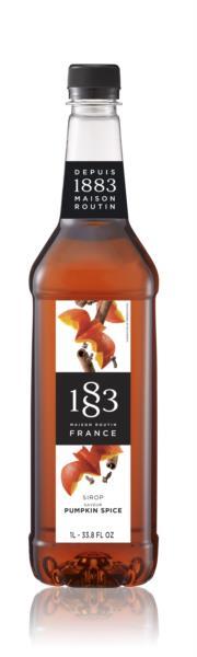 1883 Syrup - Pumpkin Spice (1x1L)