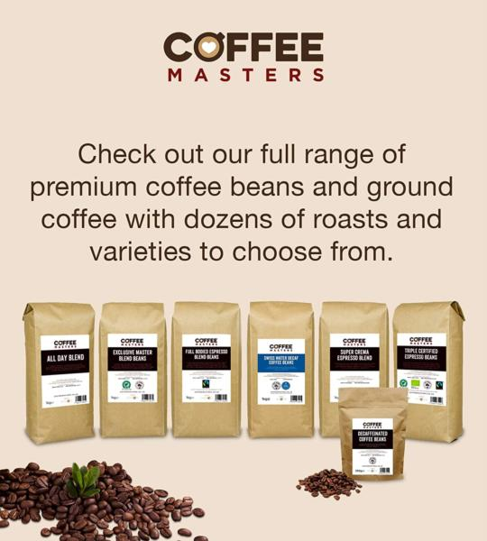 Coffee Masters - Full Bodied Blend Fairtrade Coffee Beans (4x1kg) photo 6