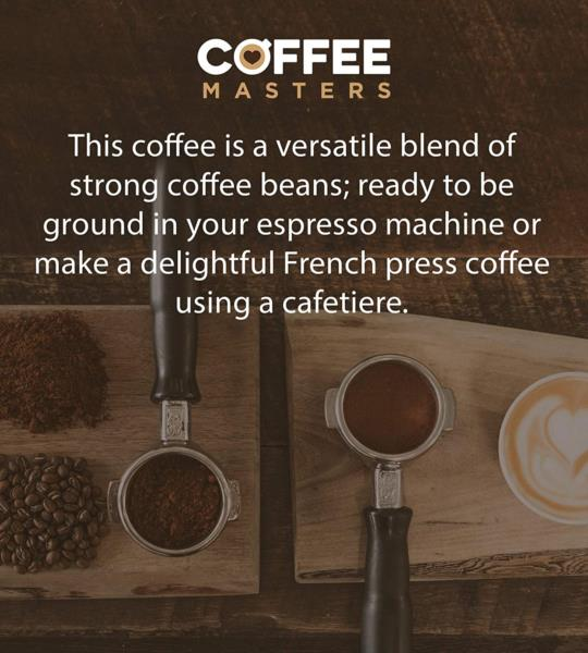 Coffee Masters - Triple Certified Organic Blend Coffee Beans (1x1kg) photo 4