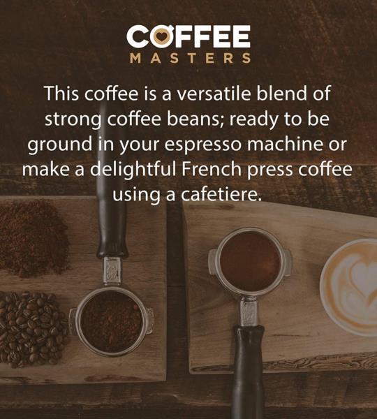 Coffee Masters - Triple Certified Organic Blend Coffee Beans (1x250g) photo 4