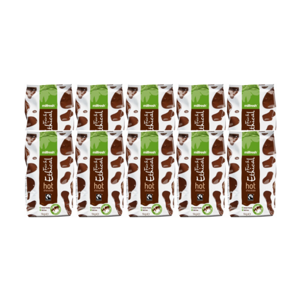 Milfresh Fair & Ethical Drinking Chocolate (10x1kg)