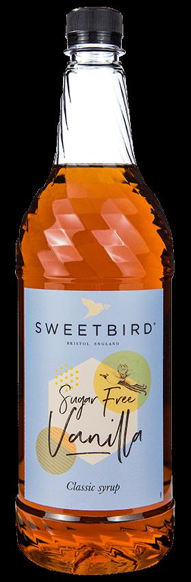Sweetbird syrup - Vanilla (Sugar Free) (1x1L)