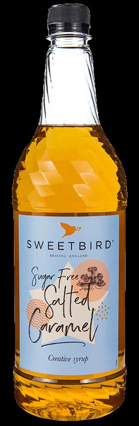 Sweetbird Syrup - Salted Caramel (Sugar Free) (1x1L)