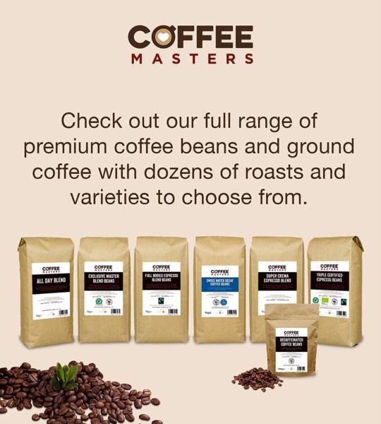 Coffee Masters - Super Crema Blend Coffee Beans (1x1kg) photo 5