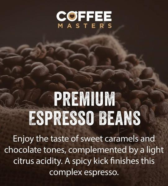 Coffee Masters - Triple Certified Organic Blend Coffee Beans (1x250g) photo 7