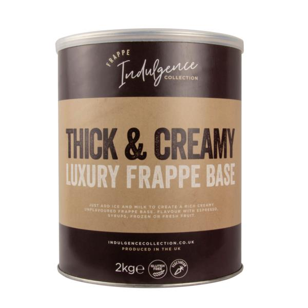Indulgence Collection - Thick & Creamy Luxury Frappe Base (1x2kg)