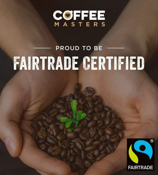 Coffee Masters - Colombian Organic Fairtrade Coffee Beans (1x1kg) photo 8