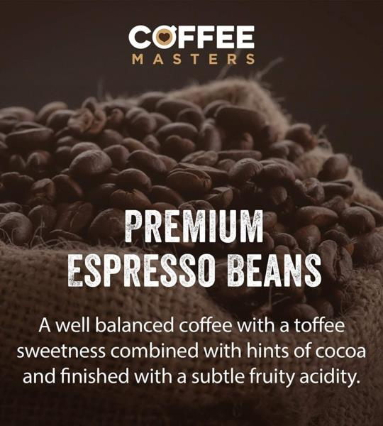 Coffee Masters - Full Bodied Blend Fairtrade Coffee Beans (4x1kg) photo 5