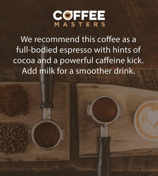 Coffee Masters - Super Crema Blend Coffee Beans (1x1kg) photo 6
