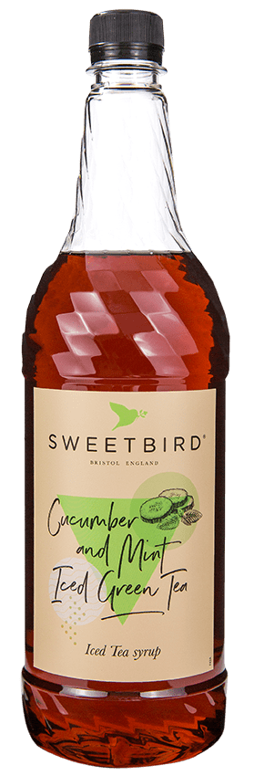 Sweetbird Syrup - Cucumber and Mint Iced Tea (1x1L)