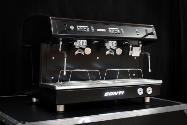Conti X-ALL Black 2 group Coffee Machine - Tall Cup photo 2