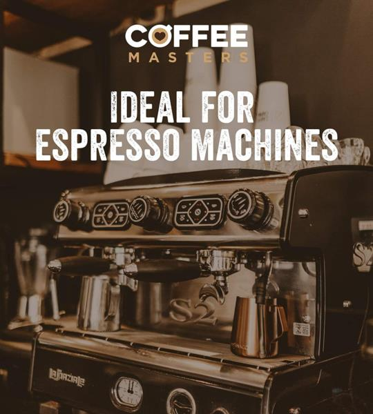 Coffee Masters - Super Crema Blend Coffee Beans (4x1kg) photo 4