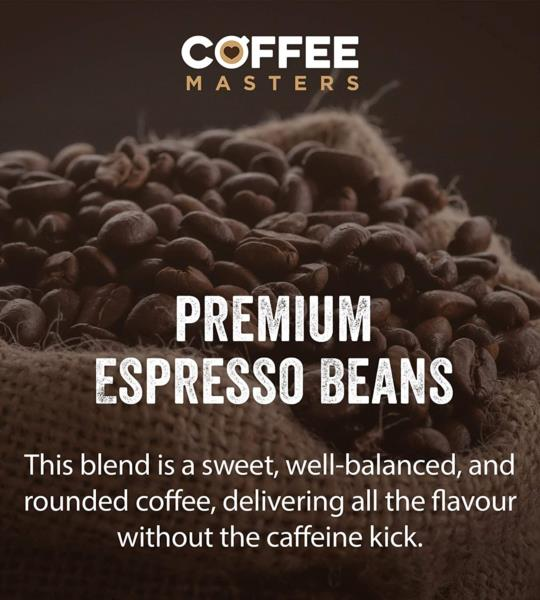 Coffee Masters - Swiss Water Decaf Coffee Beans (1x1kg) photo 6