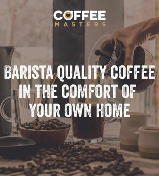 Coffee Masters - Triple Certified Organic Blend Coffee Beans (4x1kg) photo 4